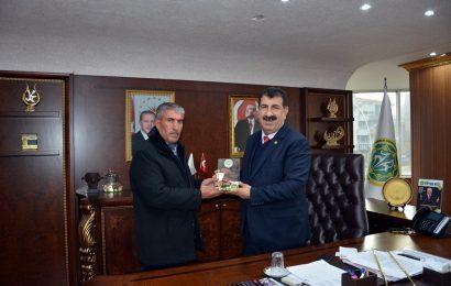 TÜDKİYEB Genel Başkanı Çelik'e, Muş Birlik Başkanı Erikli'den Ziyaret
