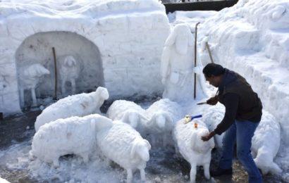 Kardan, Çoban ve Koyun Sürüsü Yaptı